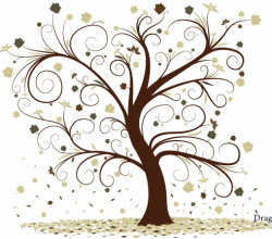 Vector-Curly Tree Design