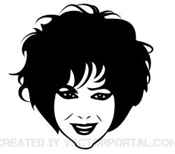Elizabeth Taylor Vector Image