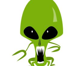 Vector Alien Art