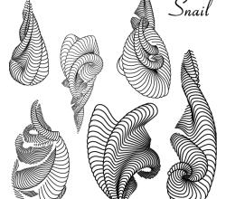 Vector Snails