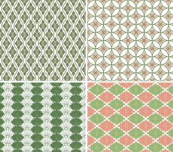 Vector Japanese Pattern Background