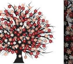 Free Blossom Tree Vector