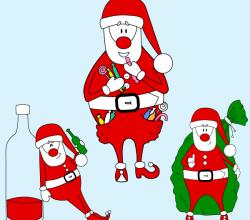 Santa Claus vector Graphics
