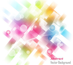 Colorful Abstract Fantasy Background Free Vector Art