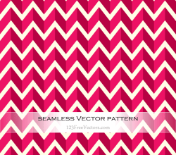 Pink Zigzag Seamless Pattern Vector
