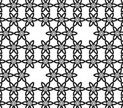 Simple Vector Flower Pattern Design