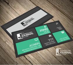 Creative & Stylish Metro Business Card Design Template