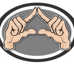 Vector Hand Gesture Image