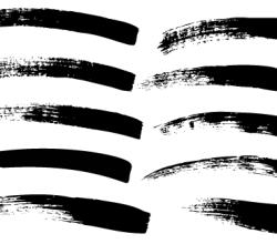 Paint Brush Strokes Free Vector
