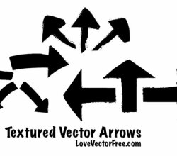 Textured Vector Arrows