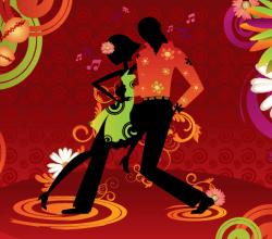 Salsa Dancing Vector