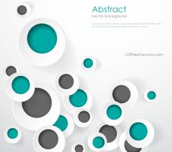 Geometric Circle Designs Background Graphics
