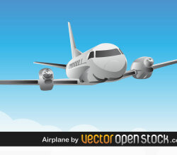 Airplane Vector Art