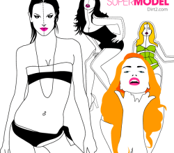 Free Fashion Models Vector Pack