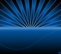 Free Sunset Vector Background Design