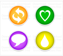 Free Social Icons Vector Set
