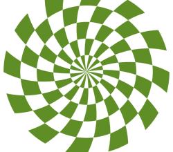 Spiral Optical Illusion Vector Free