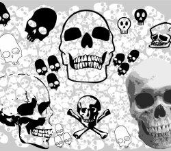 Free Vector Skull Pack