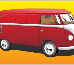 Volkswagen Type 2 Vector Graphics