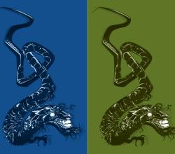 Japanese Dragon Vector Art