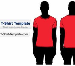 Free Vector Tshirt Template