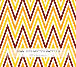 Zigzag Chevron Seamless Pattern Vector Illustration