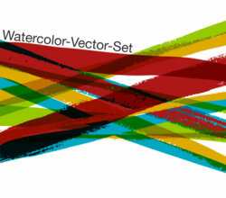 Watercolor Free Vector Set