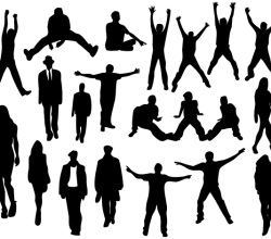 People Silhouettes Images