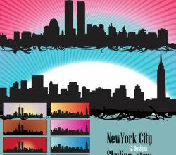 Vectorskyline Us Newyork City