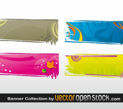 Banner Collection Illustration