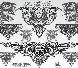 Free Typographic Ornaments