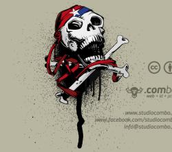 Vector Jolly Roger Skull