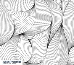 Seamless Line Pattern Background