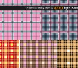 Checkered Cloth Pattern
