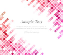 Pink Tile Background Free Vector