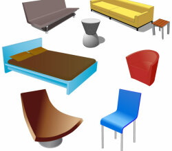 Free Furniture Vector Pack