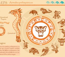 Prehispanicos Animals Vector Free