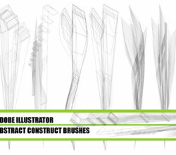Abstract Construct Illustrator Brushes