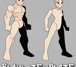 AQW Male and Female Template Vector