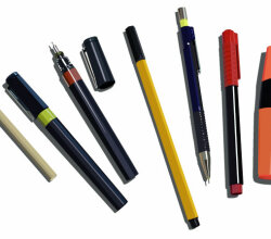 Pens, Pencils And Markers Vector
