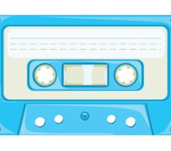 Cassette Tape Vector Art