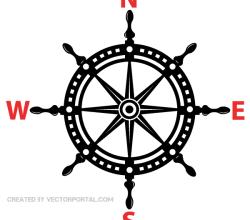 Helm Wheel Vector Image