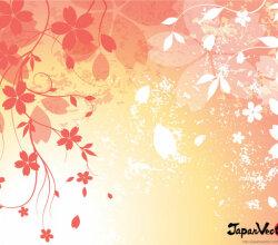 Sakura: Japanese Cherry Blossom Free Vector Background
