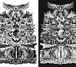 Vector Tattoo Decoration