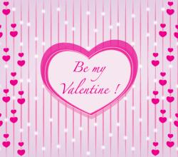 Be My Valentine Vector Graphic