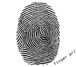 Free Fingerprint Vector Art