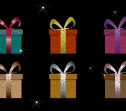 Vector Gift Box Graphics