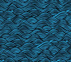 Vector Water Pattern