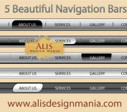 Beautiful Web Navigation Bars