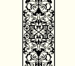 Marquetry Ornamental Design Free Vector